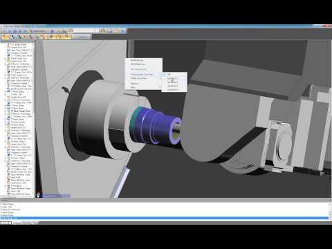 Edgecam 2013 R2 Workflow - Millturn