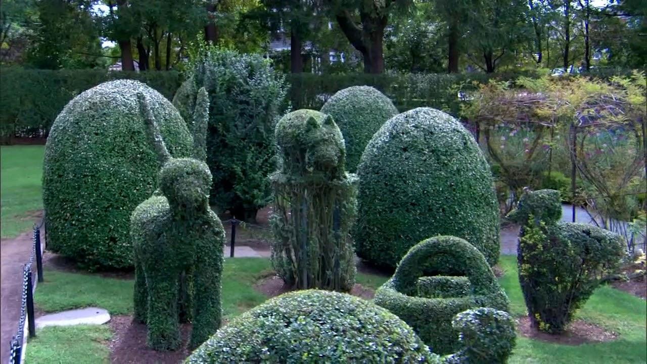 Green Animals Topiary Garden Portsmouth Press