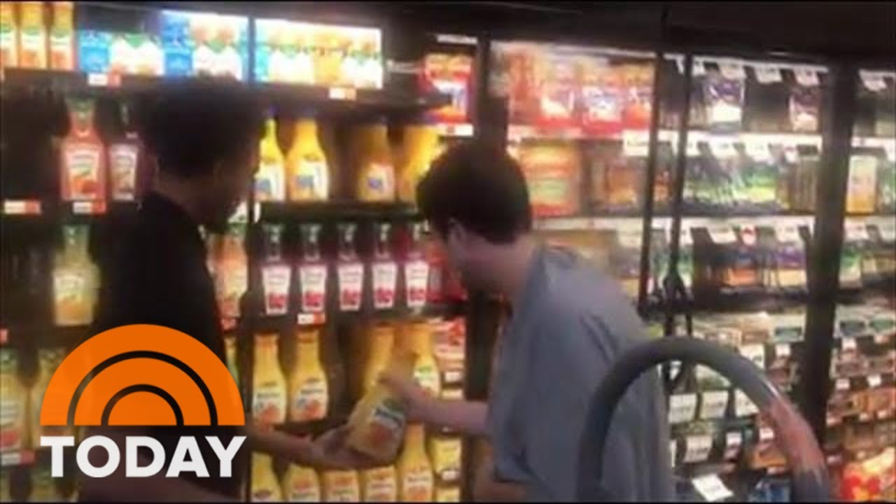 15d9a03ac Viral Video Of Teen With Autism Helping A Supermarket Clerk Results In  Great News For Both