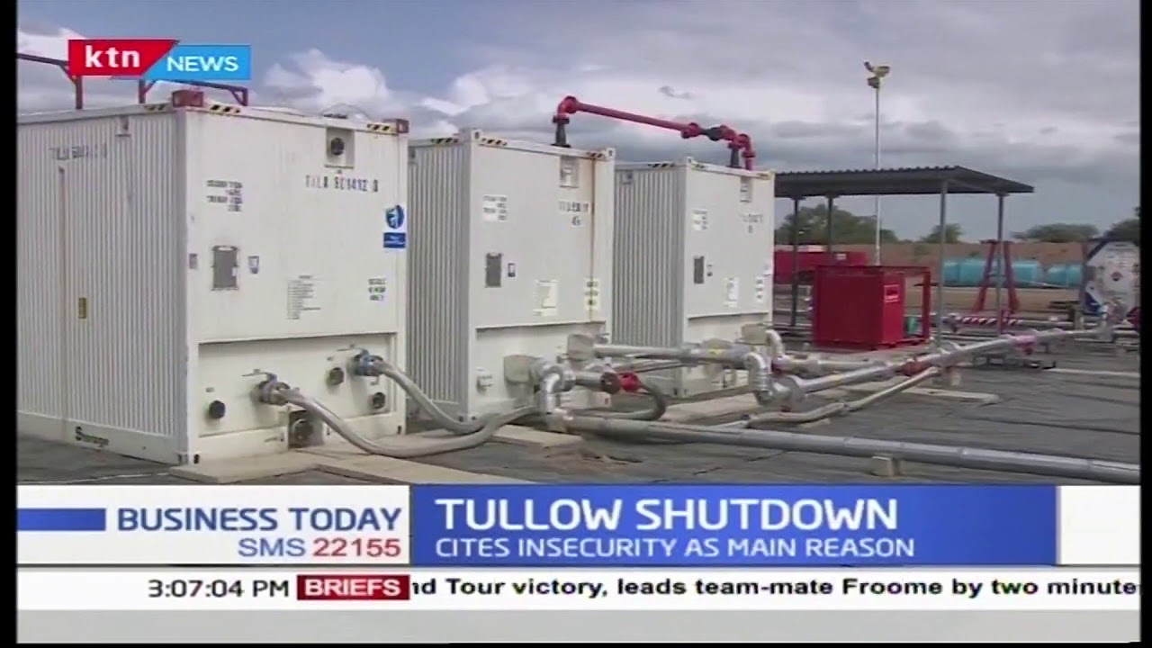 British Oil Company Tullow oil downs tools at Turkana oil wells