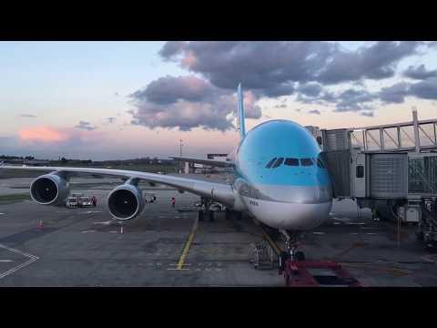Korean Air A380 Experience
