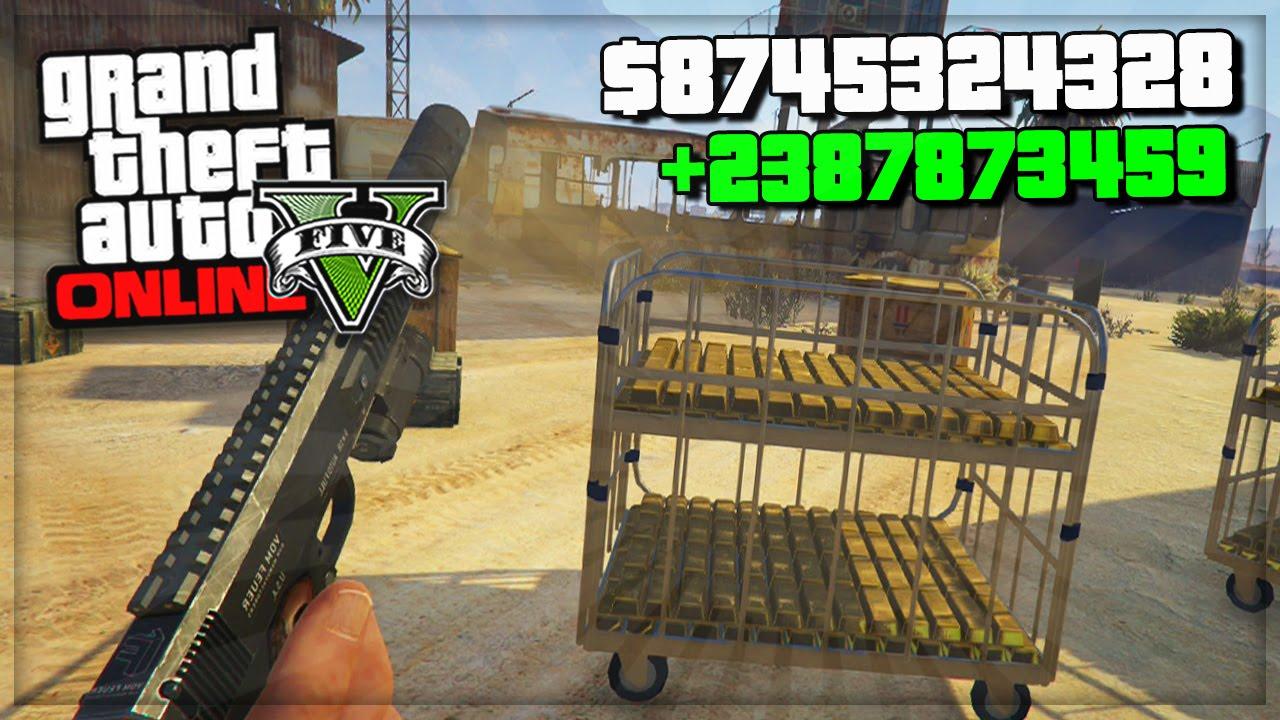 GTA 5 Online Million Dollar Mods/Cheat In Next Gen (GTA 5 Bounty Glitch?) GTA V PS4 Gameplay! - YouTube