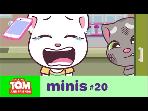 Thumbnail: Talking Tom and Friends Minis - Angela's Lost Phone (Episode 20)