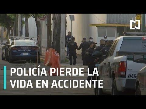 Mujer policía muere al caer de camioneta, CDMX - Expreso de la Mañana