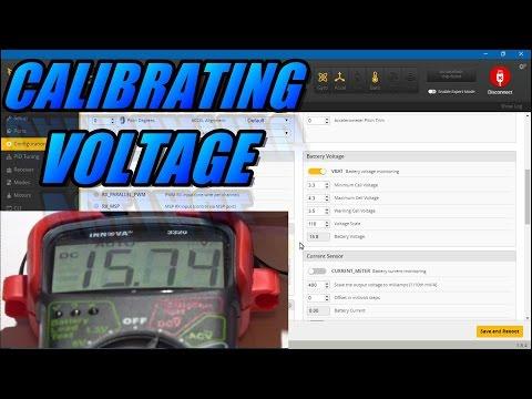 Calibrating Voltage In Betaflight / Cleanflight