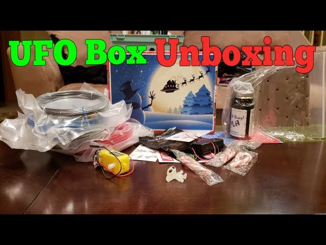 Alien3d UFO Box Unboxing! (December 2018)