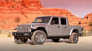 2020 Jeep Gladiator Rubicon – Running Footage and Beauty Shots in Moab