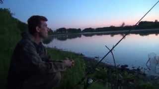 Ловля карася на озере Песчаном.
