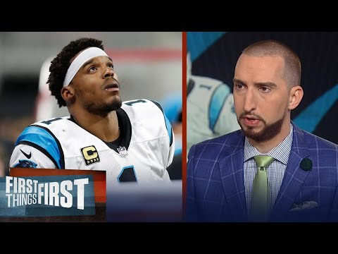 How concerned should the Panthers be about Cam going into the playoffs? | FIRST THINGS FIRST