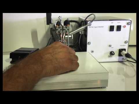 How To Weld Tabs To A Battery With A Spot Welder