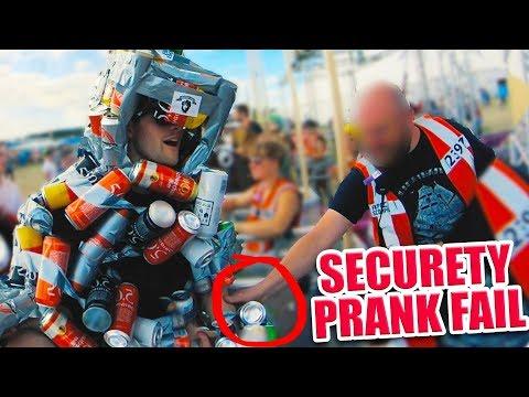 SECURITY SCHMEIßT MICH RAUS!! I Southside Festival 2018 PRANK FAIL