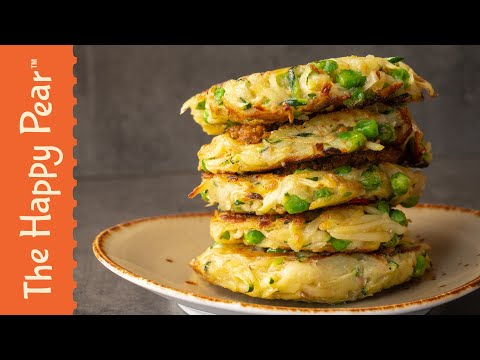 Summer Vegetable Fritters | The Happy Pear