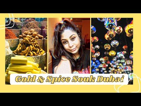The Gold & Spice Souk, Dubai Vlog!