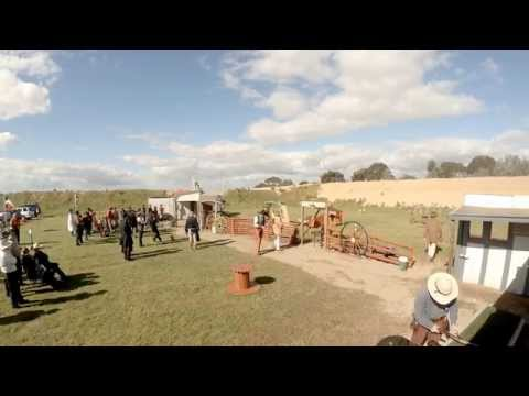 SASS SSAA South Australian Cowboy Action Shooting State Titles Master Gunfighter shoot off