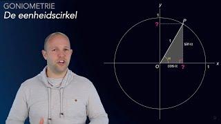 Goniometrie - de eenheidscirkel - WiskundeAcademie