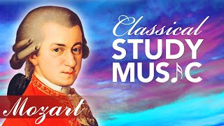 Study Music for Concentration, Instrumental Music, Classical Music, Work Music, Mozart, ♫E015