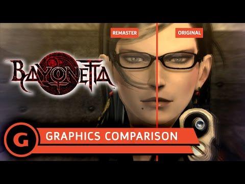 Bayonetta Graphics Comparison - Original vs  Remaster