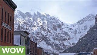 Massive avalanche in Aspen captured on camera