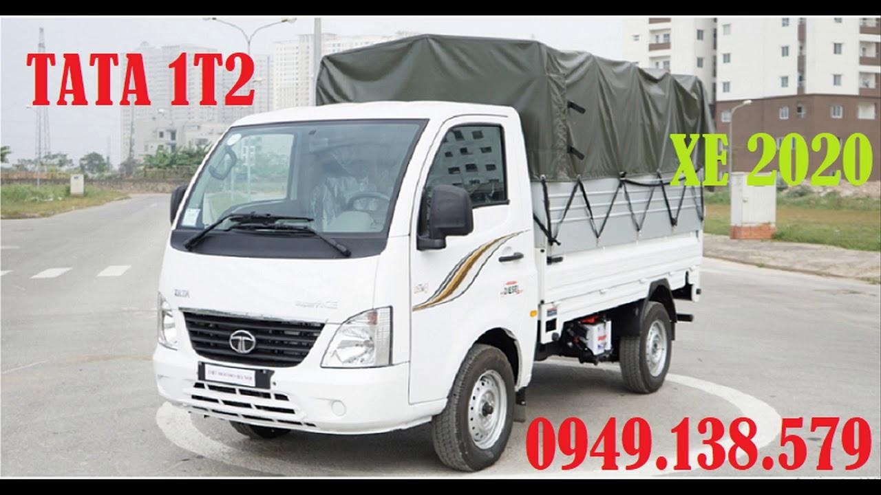 Công ty mua bán xe tải TATA 1t2 năm 2020 tại Miền Tây || Xe tải Tata 1,2 tấn trả góp || Giá xe TATA