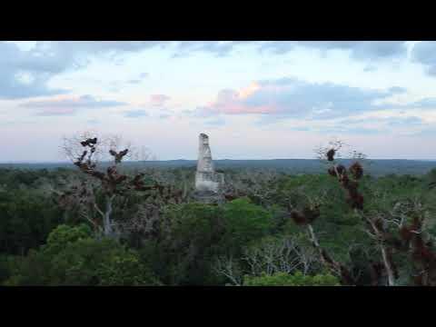 Sunset @ Tikal, Guatemala