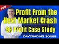 Profit From the Next Market Crash-9K Profit Case Study