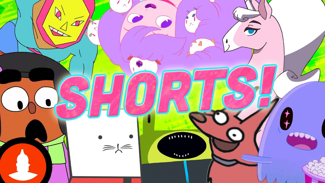 Cartoon Hangover Shorts