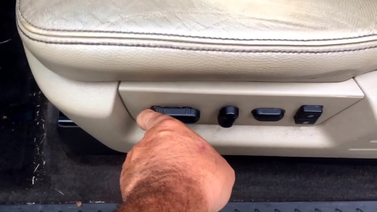 How To Fix A Stuck Seat Switch