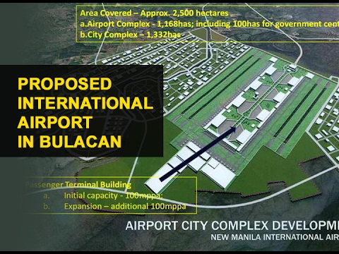 Establishment of a new airport in Bulacan likely to be approved