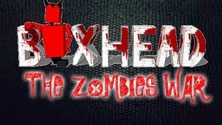 Jugando Boxhead the Zombie Wars modo Beginner