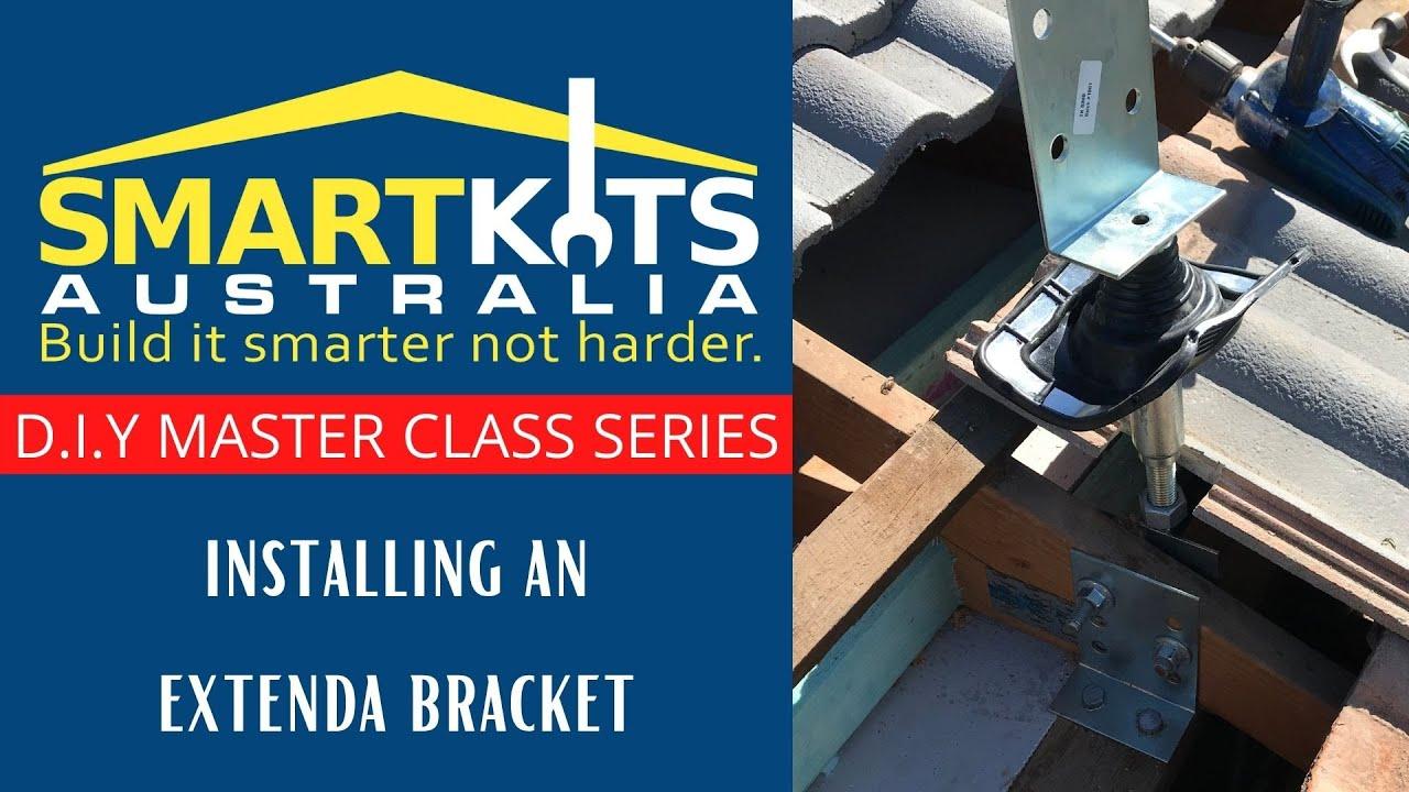 Roof Design Ideas: Installing Extenda Brackets DIY PATIO CARPORT AND FLYOVER