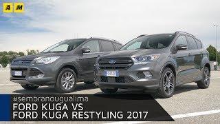 Ford Kuga 2012 vs Ford Kuga restyling: sembrano uguali, ma...