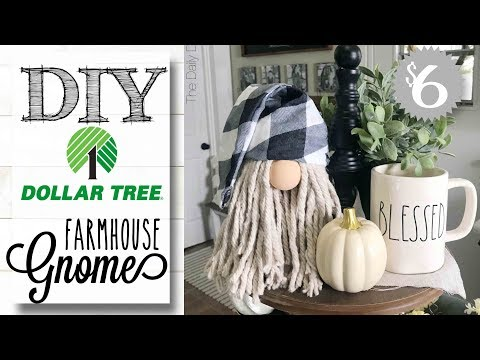 DIY Dollar Tree Gnome | ONLY $6 TO MAKE!