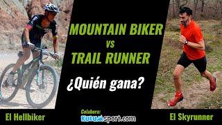 Mountain Biker vs Trail Runner   ¿Quién gana?