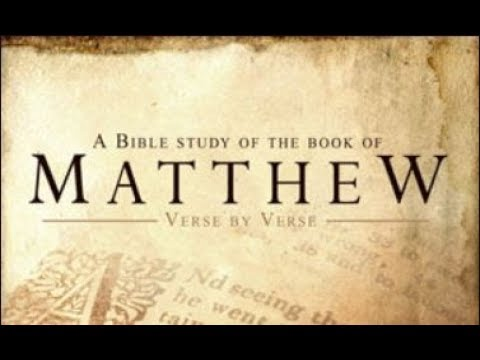 Studies in the Gospel of Matthew | Bible.org