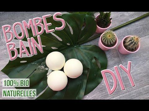 DIY Boules de Bain - Recette 100% Bio et naturelle | Bath Bombs