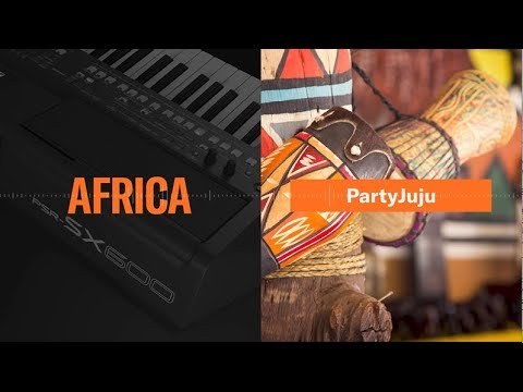 PSR-SX600, World Contents (Africa) Overview