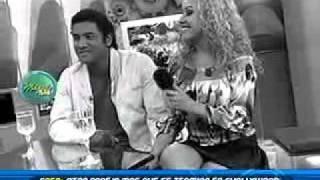 Sepa como Dorita Orbegoso y Chemo Ruiz empezaron su relación en Chollywood 18/08/2011