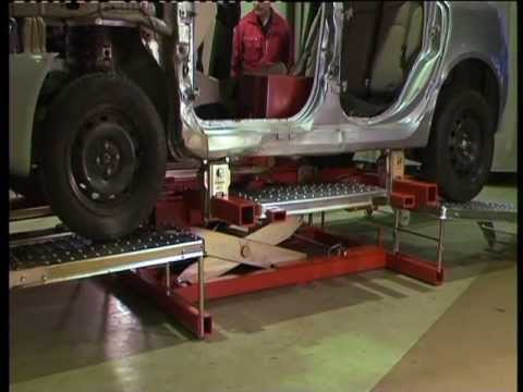 Auto Body Shops >> Autorobot B10 (XLS++/XLS+) - YouTube