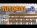 Yamaha PSR-S Tutorial [4] : STYLE selection Speed Dial method - (EN,FR,VN)