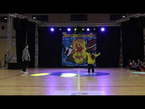 Giamik Raia Dance Contest - Hip Hop Battle Under 14 - Gianluigi vs ?????