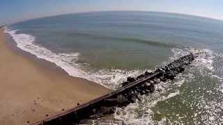 Aerial Video of Edisto Beach State Park SC