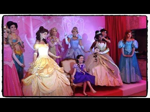 Academia de princesas da disney julia silva youtube - Muebles de princesas disney ...