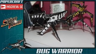 Bug Warrior - Papercraft #1