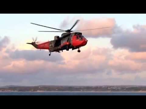 Royal Navy Westland Sea King at St.Ives-part 4