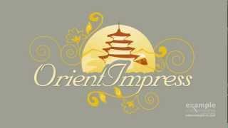 3d Logo Intro Animation - orient express