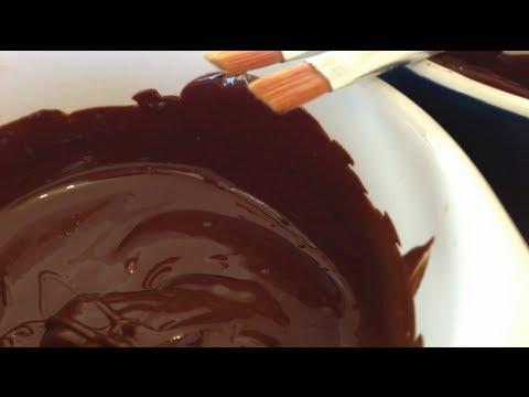 Chocolate Body Paint