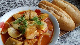 CÀ RI CHÀ THỊT GÀ - Cách Nấu CÀ RI Không Sử Dụng Nước Cốt Dừa Nhưng Vẫn Thơm Ngon