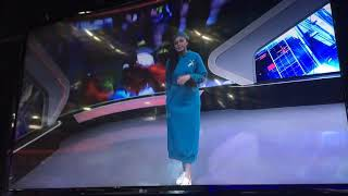 """Download Video Grace Blessing, as Host """"Sport 7 Malam"""" (Trans 7) MP3 3GP MP4"""