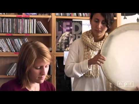 Marketa Irglova & Aida Shahghasemiperforming live at NPR Music Tiny Desk Concert