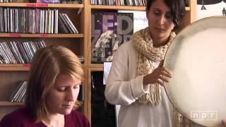Marketa Irglova & Aida Shahghasemi  performing live at NPR Music Tiny Desk Concert